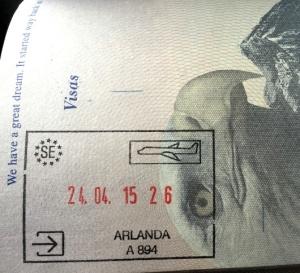 Shiny New Passport Stamp