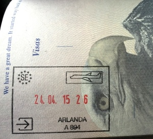 Shiny New Passport Stamp