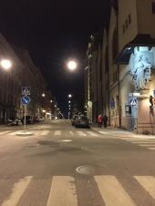 Quiet night in Stockholm