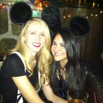Halloween Fun @ The Crocodile Lounge: Me & Evelyn