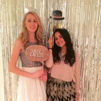 2015 NYE Festivities: Evelyn & I